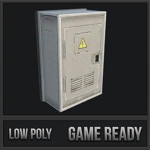 utility box 05 3D model