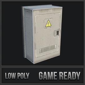3D utility box 06