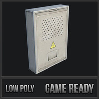 utility box 09 3D model