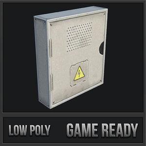 3D utility box 10