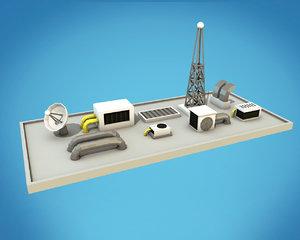 technics cartoon model