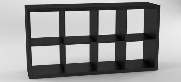 3D model nordsk drefas wall book