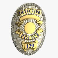Detective Badge 01