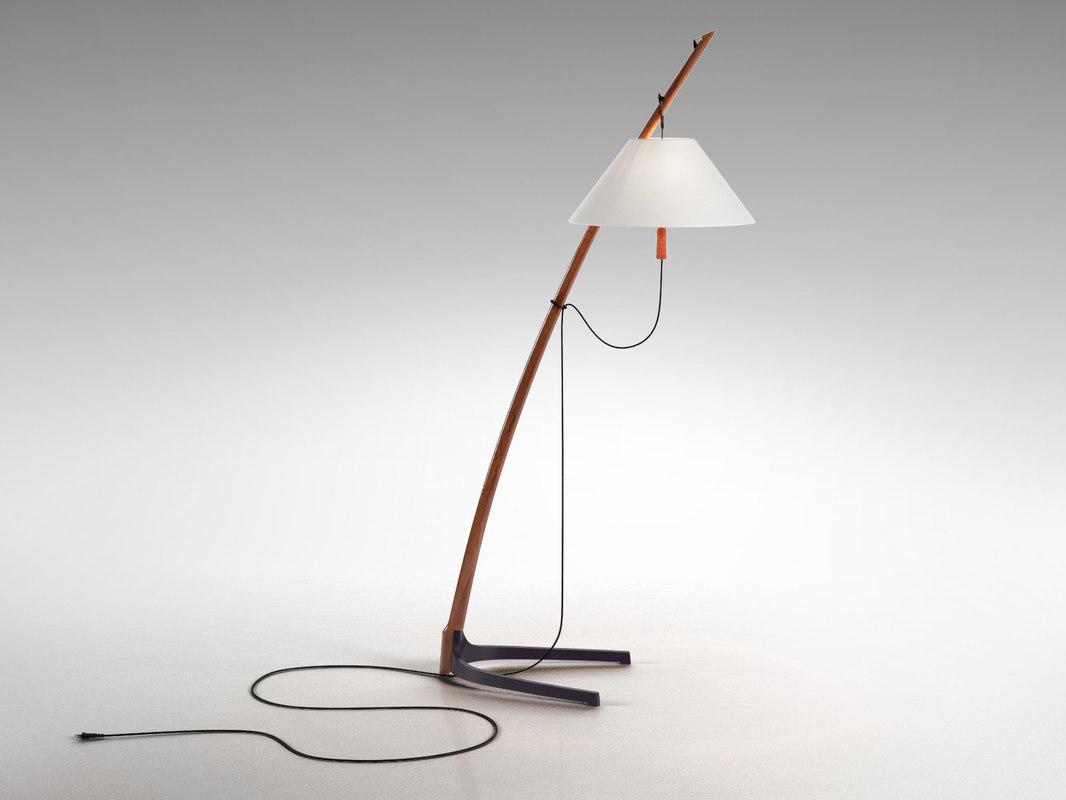 dornstab floor lamp 3D