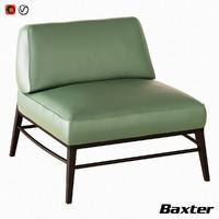 3D model armchair godard