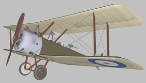 sopwith 1 world 3D model
