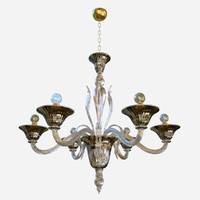 chandeliers lights sylcom pisani 3D
