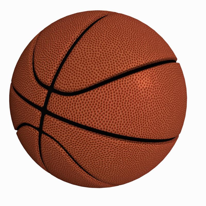 basket ball - spalding 3D