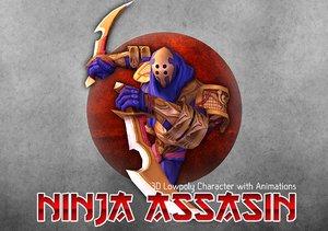 3D ninja assasin model