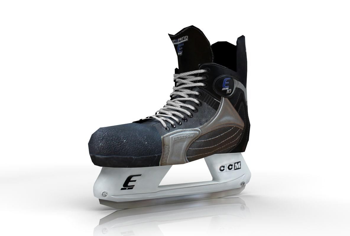 ice hockey skate model
