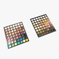 3D cosmetic palette display model
