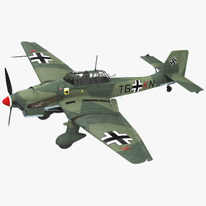 junkers ju 87 german model