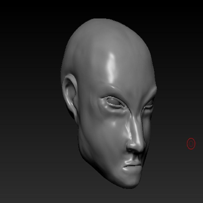 3D head character