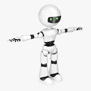 modern robot 3D