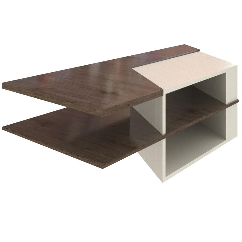 3D tea table model