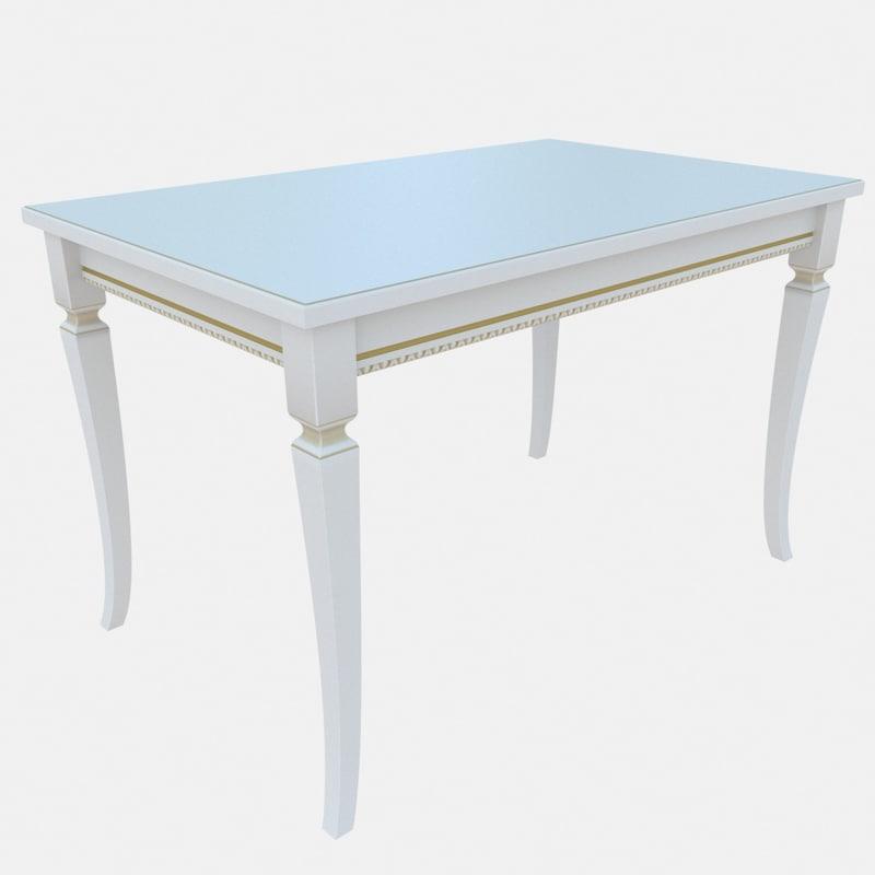 3D classic table langio