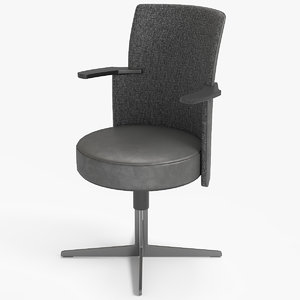 chair 2 jeff frau 3D model