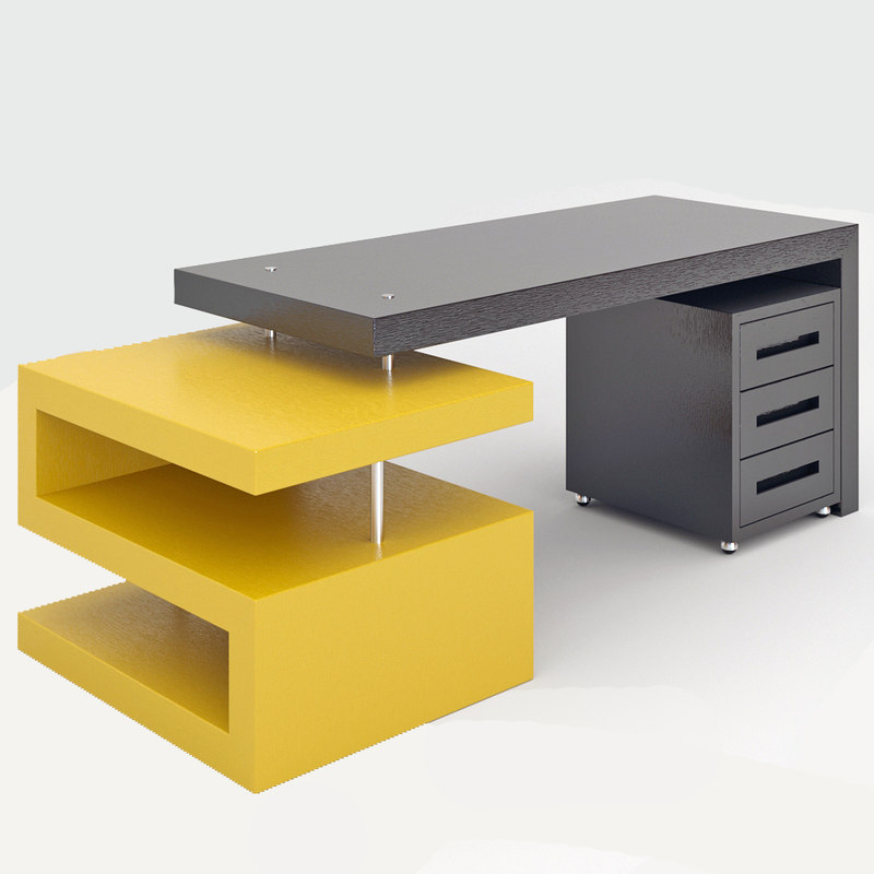3D office table goldi model
