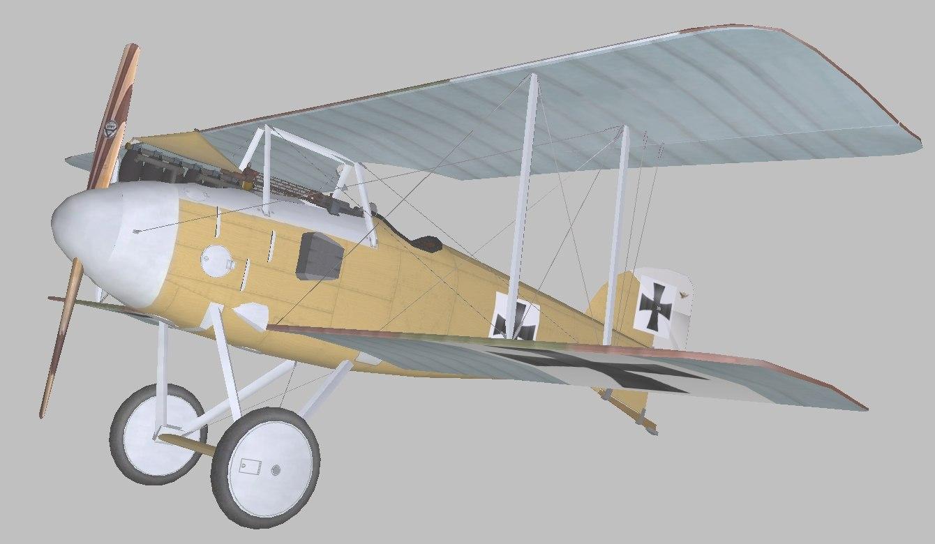albatros world war model