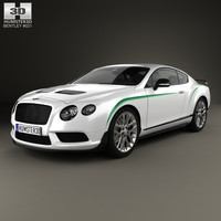 bentley continental gt 3D