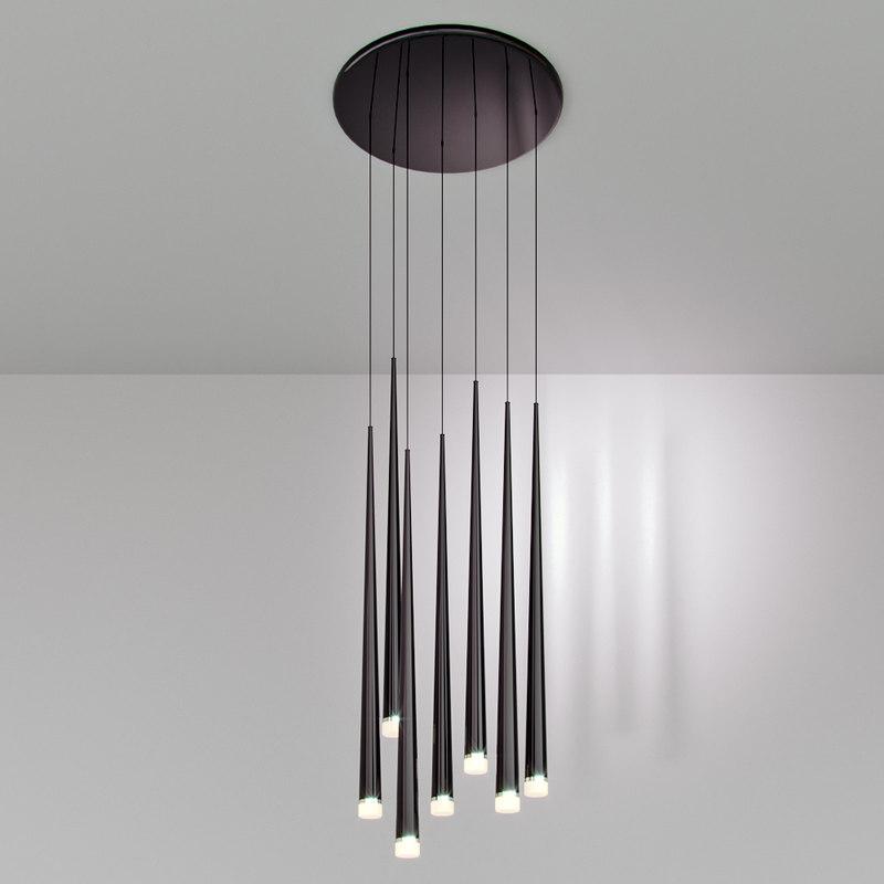 3D chandelier lineta model