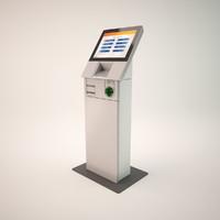 NCR Self Serv 8 kiosk