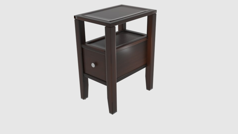 3D charlton odon end table