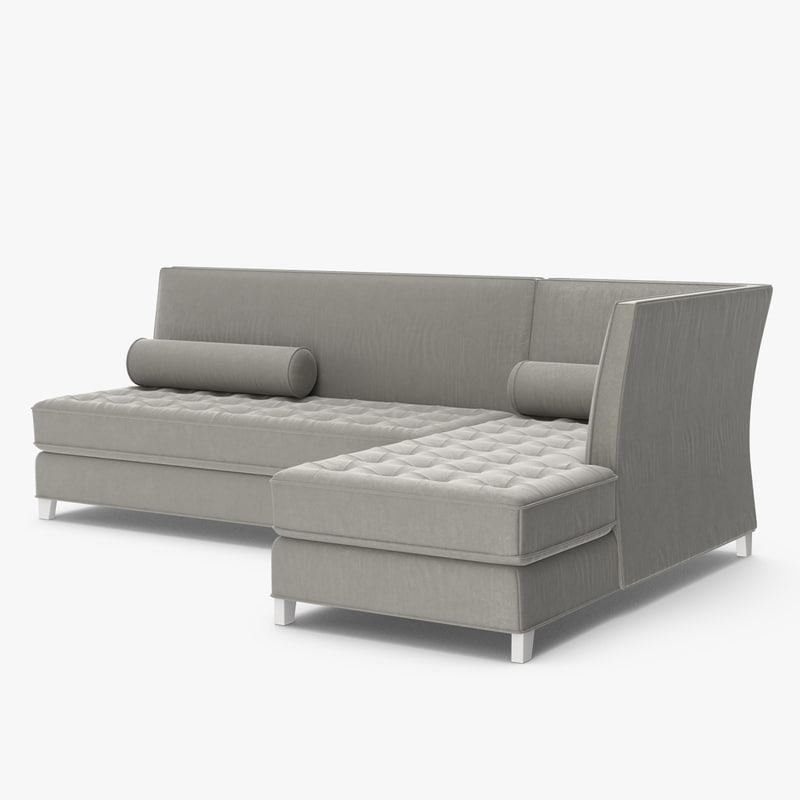 restoration hardware rylin lounge 3D model
