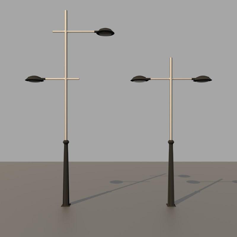 3D street lights
