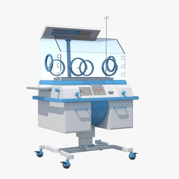 infant incubator 3D