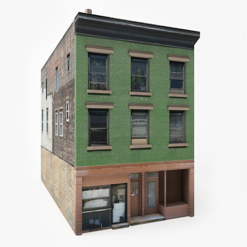 3D ready apartment house model