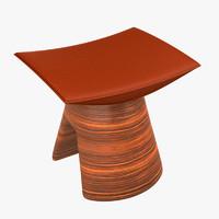 3D model fou stool