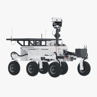rover planet 3D