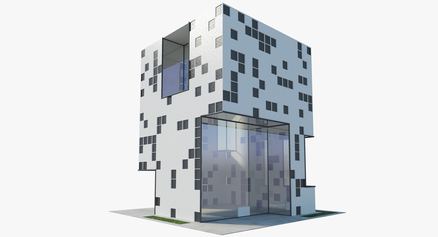 building modern 3D model