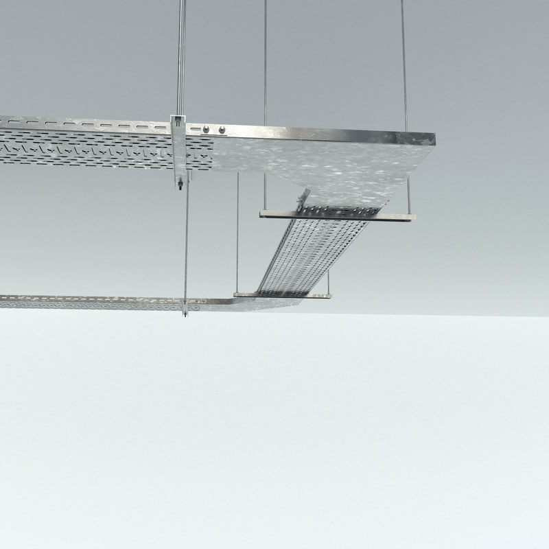 cable trays 3D model
