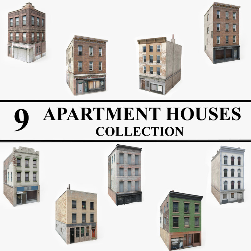 3D ready apartment houses games