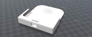 support pour smart roadster 3D model