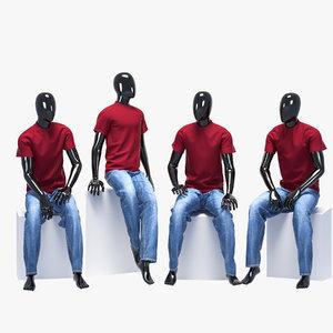 set male jeans model