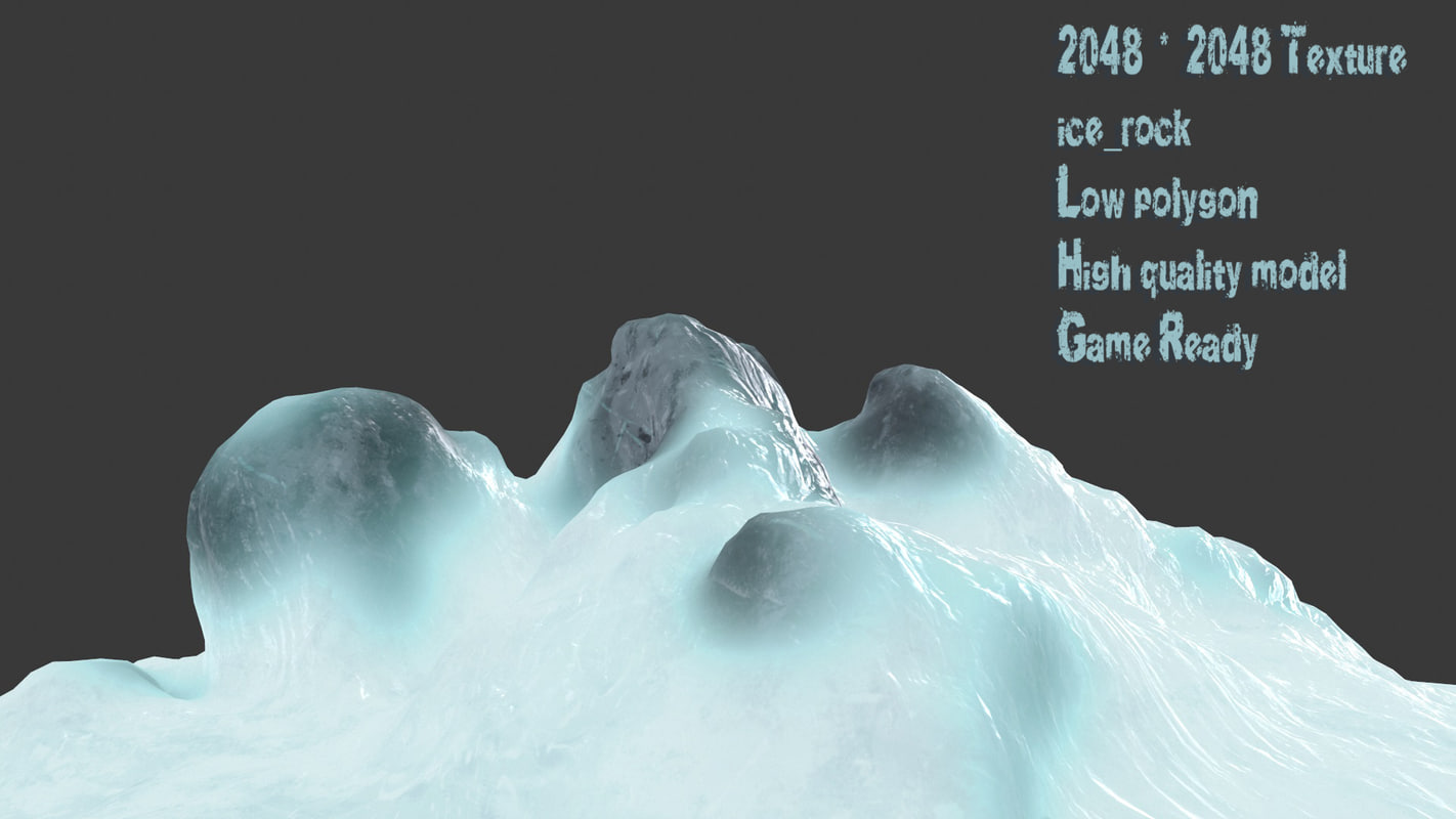 3D cave rock