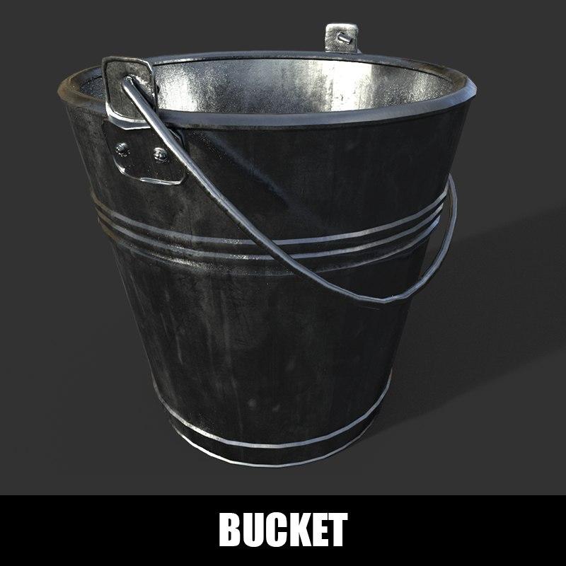 3D bucket metal