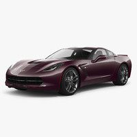 chevrolet corvette stingray 2017 3D