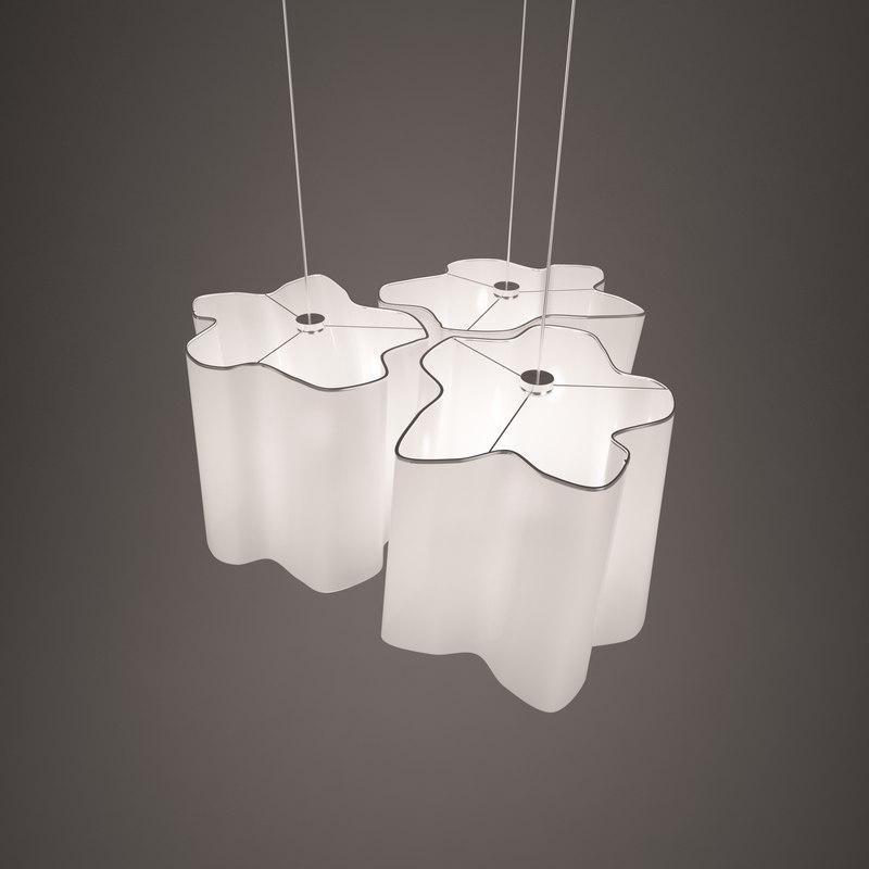 3D artemide ceiling lamp