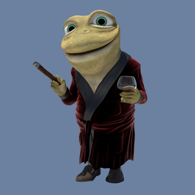 3D toad hall