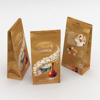3D lindt lindor assorted bag model