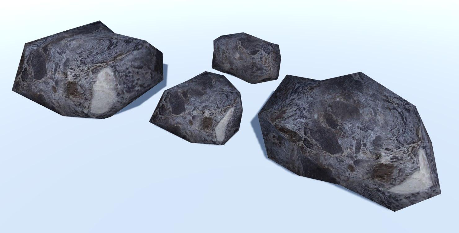 3D 4 ultra rocks