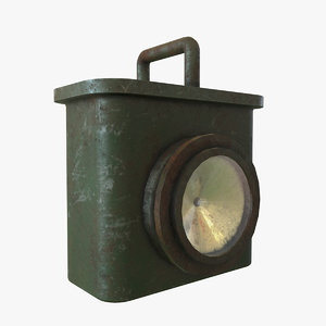 old lantern 3D