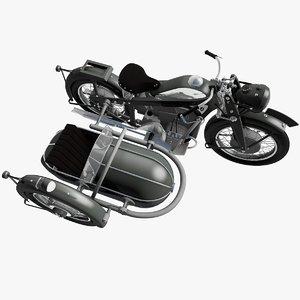 zundapp k800 sidecar model