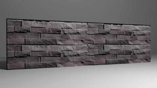 3D rock wall