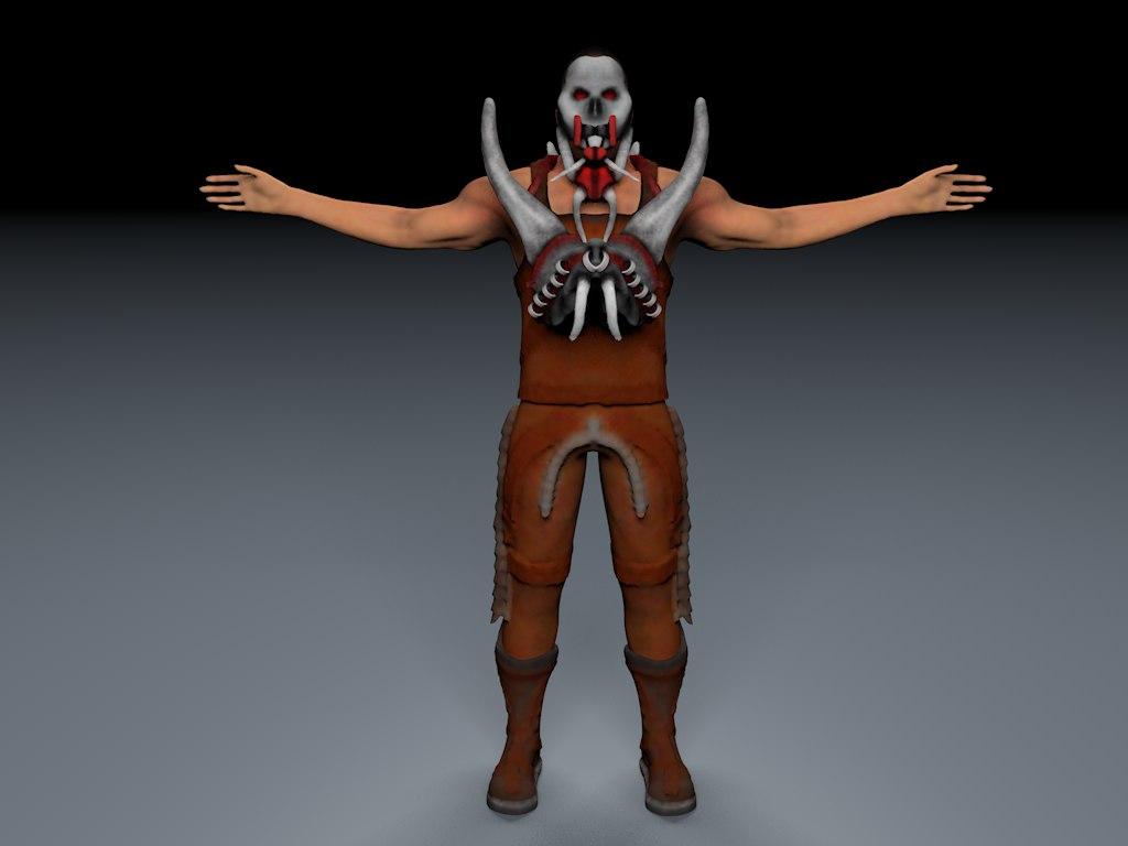 3D punisher model