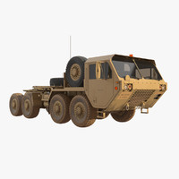 3D model hemtt oshkosh truck